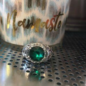 (L2)曆2CT 925Ss Stunning Ring perfect
